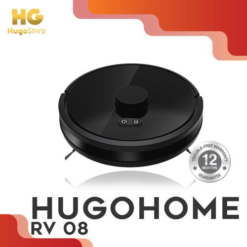 Foto Produk HUGOHOME RV08 LASER+ SMART ROBOT UV VACUUM CLEANER ANTI VIRUS dari hugostore_id