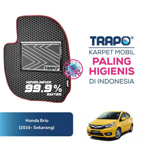 Foto Produk Karpet Mobil Honda Brio (2016-Sekarang) Trapo Indonesia Fullset - Fullset Saja dari Trapo Indonesia