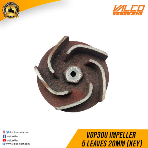 Foto Produk Sparepart Valco Ultima VGP30U Impeller 5 Leaves 20mm (Key) dari Valco
