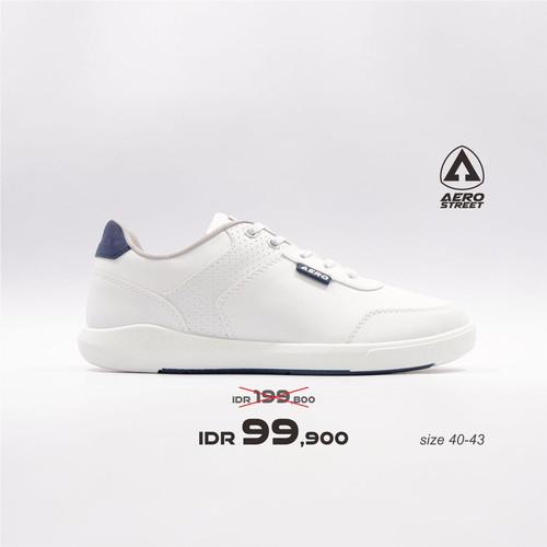 Foto Produk Aerostreet 40-43 Arthur Putih - Sepatu Sneakers Casual Pria - 40 dari Aerostreet