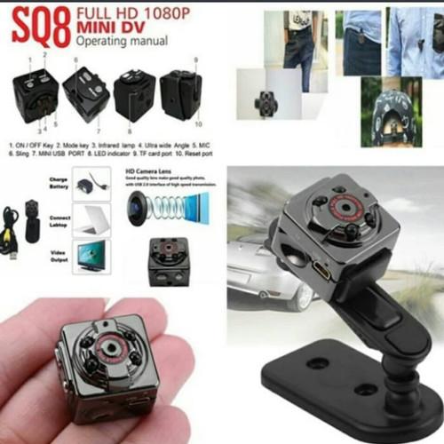 Foto Produk SPY CAMERA MINI HD SQ8 dari ruling_shop