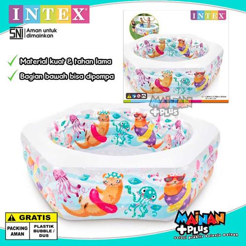 Foto Produk KOLAM RENANG ANAK INTEX OCEAN REEF POOL SNI dari MainanPlus