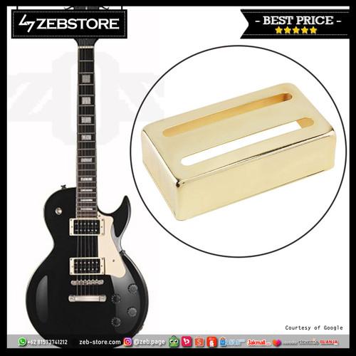 Foto Produk Cover Pickup Humbucker Strip 2 Line Gold dari Zeb Hobbies Store