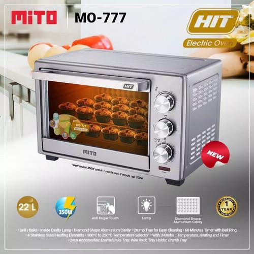 Foto Produk OVEN MITO MO-777 - Oven MITO low watt MO 777 / MO777 / MO-777 dari botolbotak