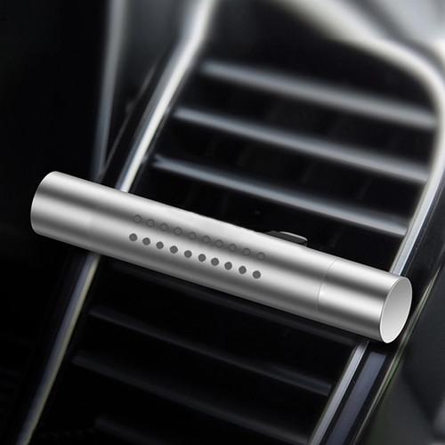 Foto Produk Parfum Pewangi Mobil Stick Car Air Vent Premium Quality with 5 Refil - Silver dari Gentleman Car