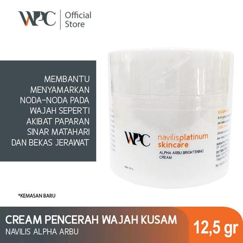 Foto Produk WPC Navillis Alpha Arbu Brightening Cream Skincare Wajah   Night Cream dari Wijaya platinum official