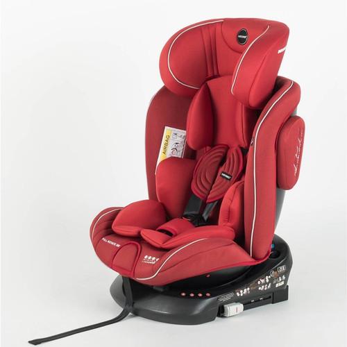 Foto Produk Carseat Babydoes CH 8748 all rotate 360 Derajat - Merah dari AndrewsBabyShop