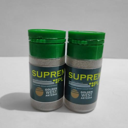 Foto Produk Artemia Supreme Plus Repack 10 Gram SupremePlus Golden West Kultur 10g dari imamjordanstore