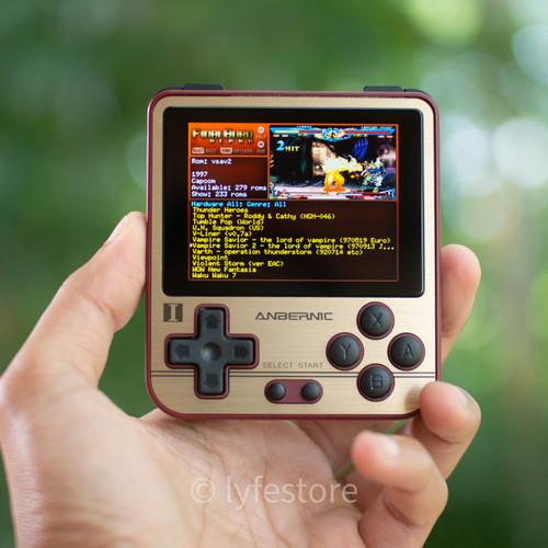 Foto Produk Retro Handheld Game Boy Console Anbernic RG280V - Hitam dari Lyfe Store