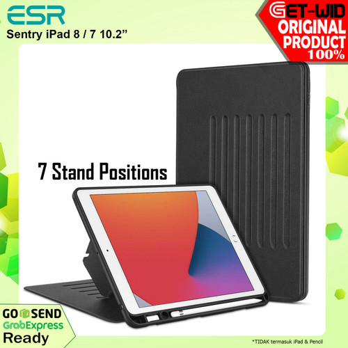 Foto Produk Case iPad 8 / 7 10.2 Inch ESR Sentry with Pencil Holder dari GET-WID Official