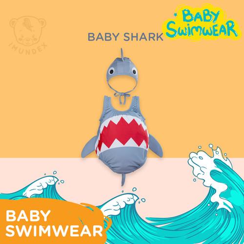 Foto Produk Baju renang bayi anak IMUNDEX / Baby Swimwear IMUNDEX Shark / Nemo - Baby Shark, 3-4 tahun dari IMUNDEX-JKT