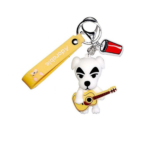 Foto Produk Nintendo Animal Crossing Gantungan Kunci / Keychain / Key Chain Strap - K.K Slider dari Waroengame