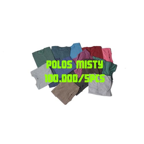 Foto Produk kaos polos pendek misty twotone series - RANDOM, XL dari Kaos Polos Edan