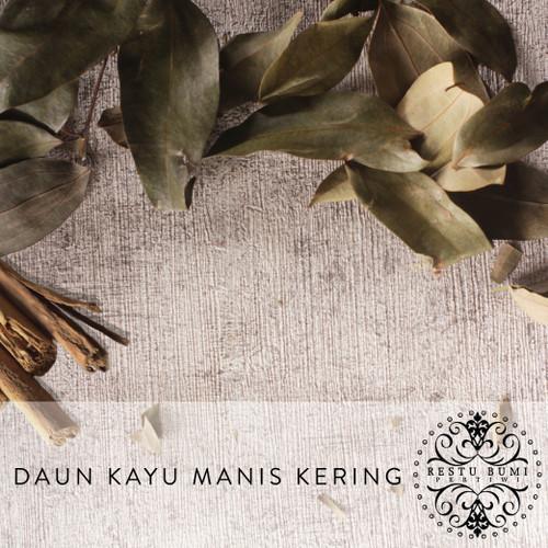 Foto Produk Daun Kayu Manis Kering - Cinnamomum Verum - 50 gram dari RESTU BUMI PERTIWI