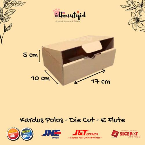 Foto Produk Kardus Packing karton polos uk. 17x10x5 cm --Die Cut dan easy usage-- dari idbeautyid