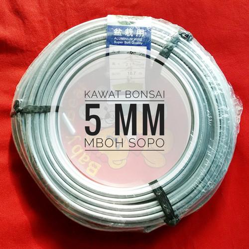 Foto Produk Kawat Bonsai 1 Rol - Ukuran 5 mm dari Mboh Sopo