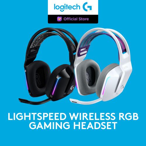 Foto Produk Logitech G733 LIGHTSPEED Wireless RGB 7.1 Surround Gaming Headset - Putih dari Logitech G Official
