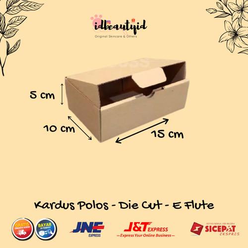 Foto Produk kardus Packing uk.15x10x5 cm --Die Cut dan easy usage-- dari idbeautyid