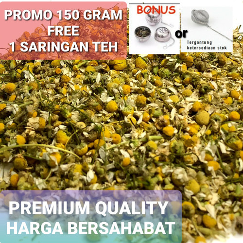 Foto Produk Bunga Teh Chamomile premium (import) teh detox 50g dari Black Leg