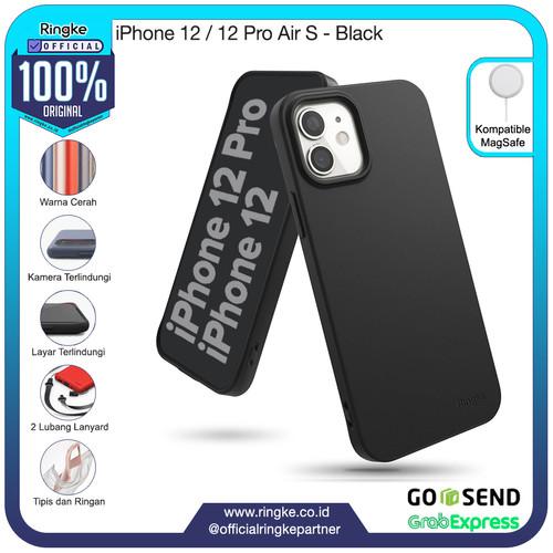 Foto Produk Ringke iPhone 12 / 12 Pro Air S Softcase Armor Anti Crack Military - Black dari Official Ringke Partner