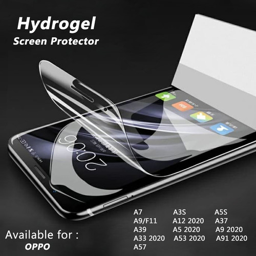 Foto Produk HYDROGEL OPPO A5 A9 A12 A33 A53 A91 2020 ANTIGORES GEL SCREENPROTECTOR - OPPO A53 2020 dari Accessories Solution(AS)