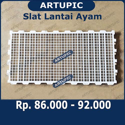 Foto Produk Slat Lantai Ayam Alas Lantai Pijakan Kandang Ayam Kelinci Kambing dari ArtupicPeralatanPeternak