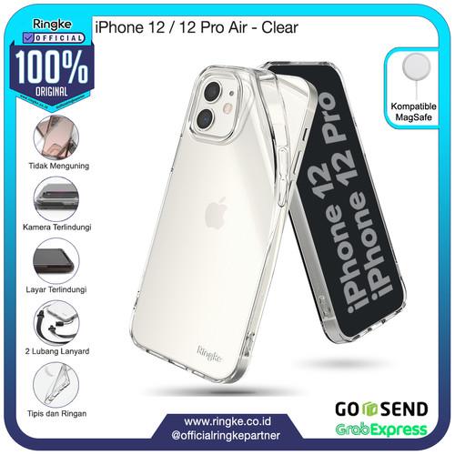 Foto Produk Ringke iPhone 12 / 12 Pro Air Softcase Armor Anti Crack Military Slim - Clear dari Official Ringke Partner