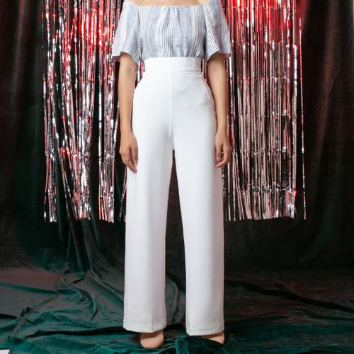 Foto Produk White Finn Long Pants dari Avgal Collection