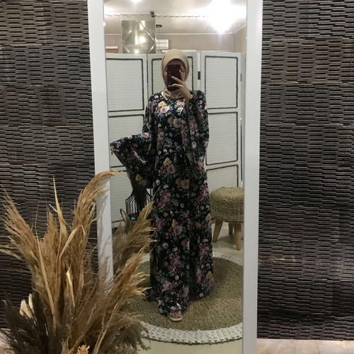 Foto Produk Dress Muslim Wanita Covering Story Alan Dress - D Navy dari Covering Story