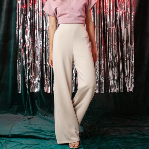 Foto Produk Beige Finn Long Pants l AVGAL dari Avgal Collection