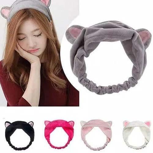Foto Produk Bandana Bando Motif Kuping Hairband Korea Lucu Kucing Bendo Headband R dari Lynn Design