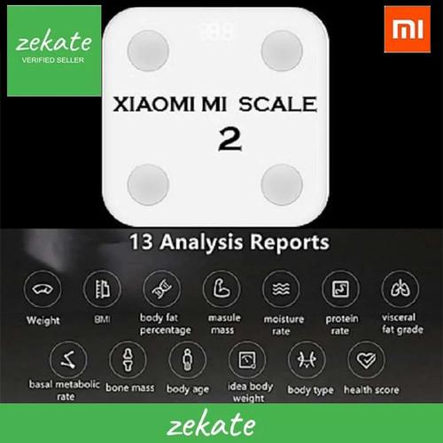 Foto Produk Xiaomi Mi Timbangan Body Fat Tester Weight Scale 2 (Original) dari zekate