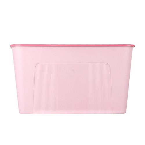Foto Produk MINISO Kotak Penyimpanan Storage Box Baju Multifungsi Ukuran Besar - Merah Muda dari Miniso Indonesia