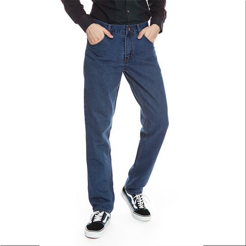Foto Produk 2Nd RED Jeans Pria Basic Pola Standart Biru Langit 171909 - 30, Biru dari 2nd RED Jeans