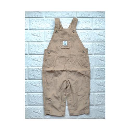 Foto Produk overall werpak baju kodok anak bayi laki branded ori Carter 6-9 bulan - 6-9m Ld26 p58, Coklat muda dari Outlet Sabia