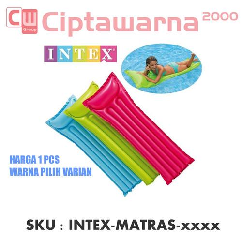 Foto Produk Intex Glossy Mat Lounge Inflatable. Matras / Kasur Kolam Renang - Merah Muda dari Cipta Warna