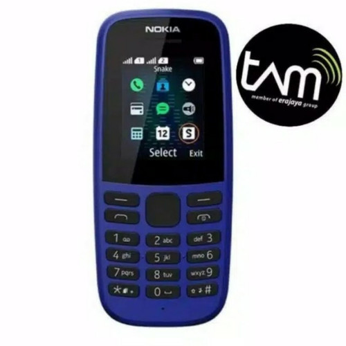 Foto Produk Nokia 105 Garansi Resmi 1 Tahun - Hitam dari Z Ponsel 88