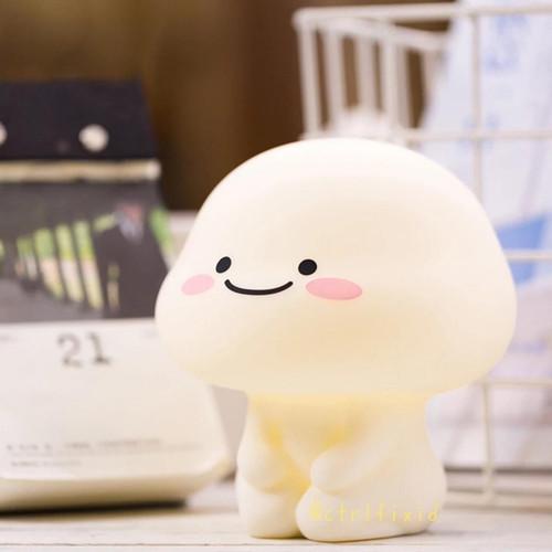 Foto Produk boneka Lampu Tidur Quby si Pentol Star Moly Soft Head Touch Dimmer dari IB import