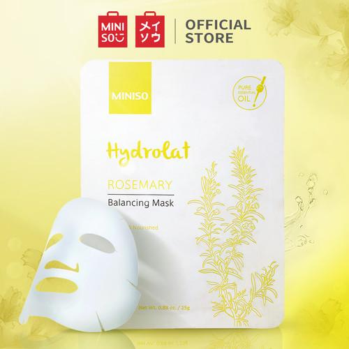 Foto Produk MINISO Masker Wajah Hydrating Mask Mawar Rose Pelembab Pencerah - Rosemary dari Miniso Indonesia