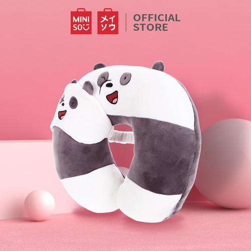 Foto Produk Miniso Official We Bare Bears U-shaped Neck Pillow - Panda dari Miniso Indonesia