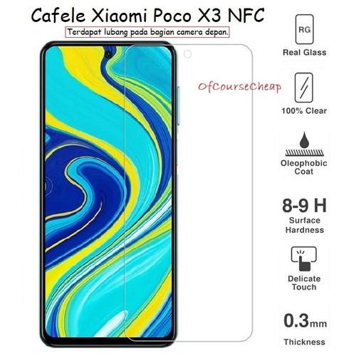 Foto Produk CAFELE XIAOMI POCO X3 NFC - PREMIUM TEMPERED GLASS CLEAR dari Of Course Cheap