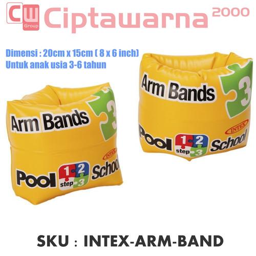 Foto Produk Intex Arm Bands Pool School Step 3. Pelampung Lengan Renang Anak dari Cipta Warna