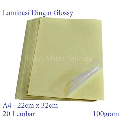 Foto Produk Plastik Laminasi Dingin Glossy dari Toko Mitra Sukses
