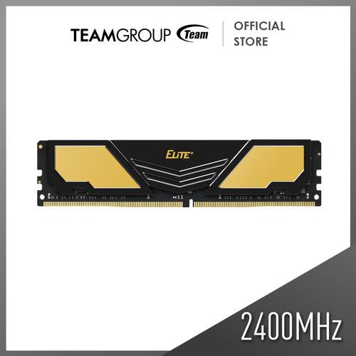 Foto Produk TEAMGROUP Elite Plus Memory 16GB PC 2400 DDR4 ( 19200Mhz ) dari Teamgroup Official Store