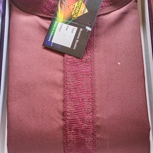 Foto Produk Baju Koko Wadimor tangan panjang - Merah marron, M dari media dewicell