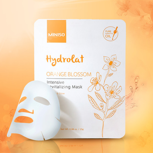 Foto Produk MINISO Masker Wajah Hydrating Sheet Mask Moisturizing Rosemary Kontrol - Orange Blossom dari Miniso Indonesia