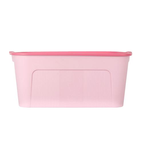 Foto Produk MINISO Penyimpanan Storage Box Multifungsi, kecil - Merah Muda dari Miniso Indonesia