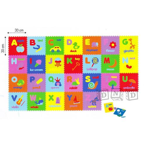 Foto Produk Mainan Edukatif/Edukasi Anak - Matras Evamat / Evamats Huruf Alphabet dari Toko DnD