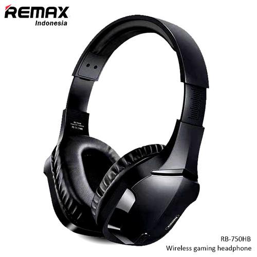 Foto Produk REMAX Gaming Headphone Wireless EDR More Professional Gaming RB-750HB - Hitam dari Remax Indonesia Official