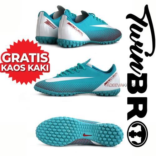 Foto Produk sepatu futsal nike mercurial terbaru - Hitam, 39 dari xoxobandung